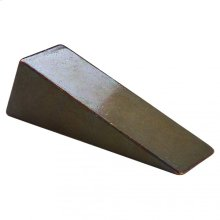 Wedge Door Stop - DSH401 Silicon Bronze Brushed