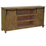 La Salle Wood 2 Sliding Door Media Console Product Image