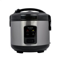 5 Cup (uncooked) Automatic Rice Cooker - Stainless Steel / Black - SR-JN105
