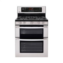 6.1 cu. ft. Capacity Gas Double Oven Range with Infrared Grill and EasyClean