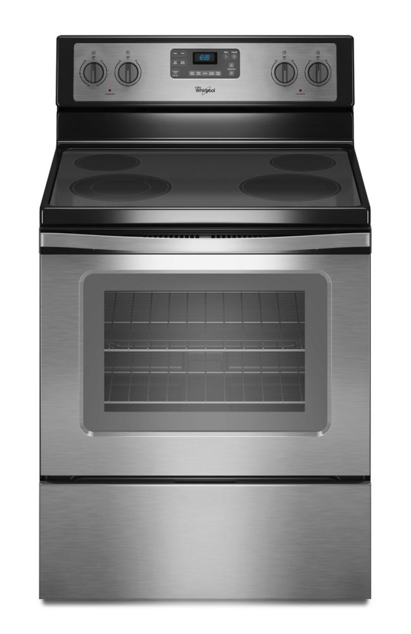 Bob wallace appliance huntsville alabama - 5 3 Cu Ft Freestanding Electric Range With Easy Wipe Ceramic Glass Cooktop