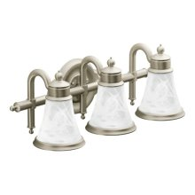 Waterhill brushed nickel bath light