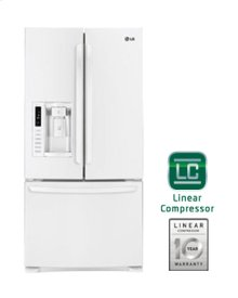 "Ultra-Large Capacity 3 Door French Door Refrigerator with Ice & Water Dispenser (Fits a 33"" Opening)"