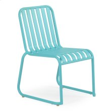 0111 Stackable Dining Chair Turquoise