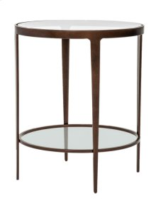 Roundabout End Table