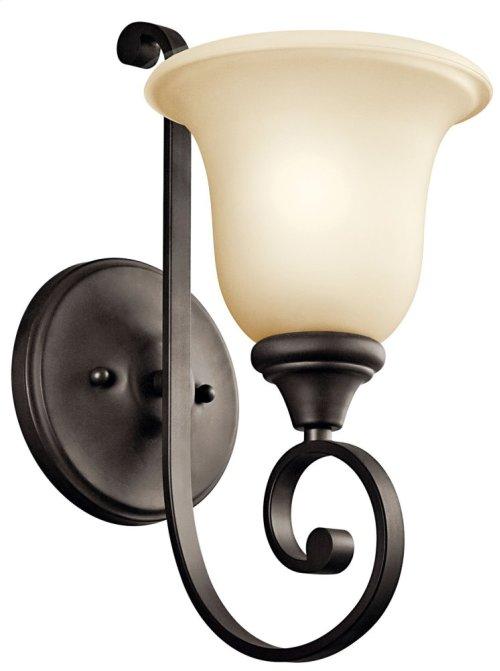 Monroe 1 Light Wall Bracket Olde Bronze®