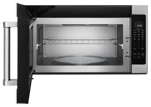 """1000-Watt Microwave with 7 Sensor Functions - 30"""" - Stainless Steel"""