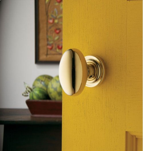 Lifetime Polished Brass 5025 Estate Knob