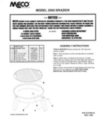 Brazier Owners Manual (Free Downloads)