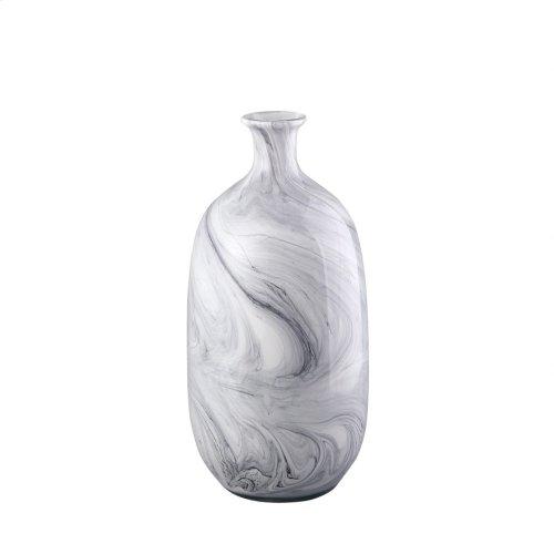 Swirl Vase Grey