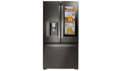 LG Black Stainless Steel Series 24 cu. ft. InstaView Door-in-Door® Counter-Depth Refrigerator Product Image