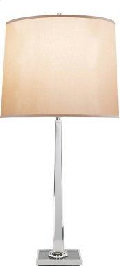 Visual Comfort BBL3025SS-S Barbara Barry Petal 31 inch 150 watt Soft Silver Decorative Table Lamp Portable Light