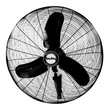 24 inch Wall Mounted Fan