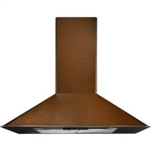 "Oiled Bronze Wall-Mount Canopy Hood, 36"", Oiled Bronze"