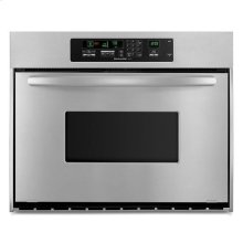 Stainless Steel KitchenAid® 36-Inch Convection Single Wall Oven, Architect® Series II Handle
