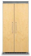 "42"" Custom Panel Side-by-Side Refrigerator/Freezer Product Image"