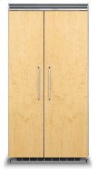 "42"" Custom Panel Side-by-Side Refrigerator/Freezer Product Image"