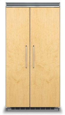 "42"" Custom Panel Side-by-Side Refrigerator/Freezer"