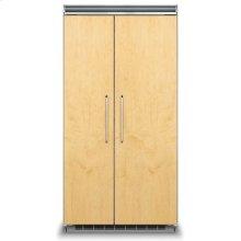 "42"" Custom Panel Side-by-Side Refrigerator/Freezer"