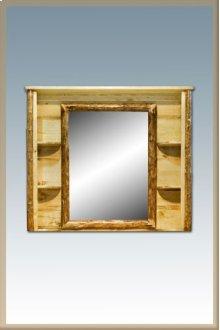 Glacier Country Log Deluxe Dresser Mirror