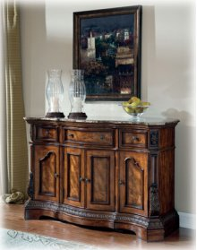 Dining Room Server Ledelle - Brown Collection Ashley at Aztec Distribution Center Houston Ttexas