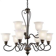 Tanglewood 9 Light Chandelier Olde Bronze®