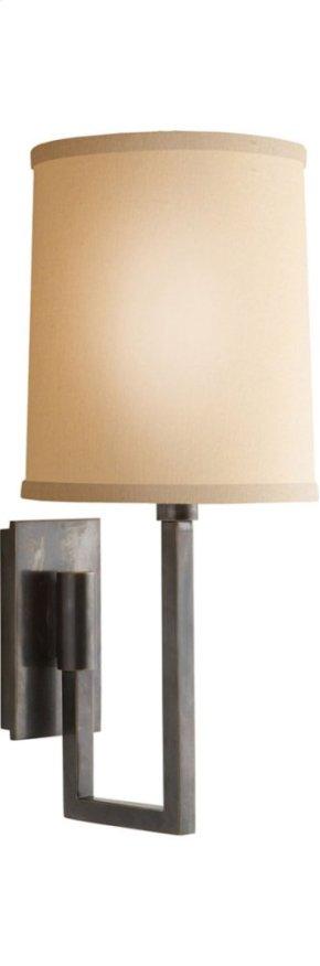 Visual Comfort BBL2027BZ-L Barbara Barry Aspect 1 Light 6 inch Bronze Decorative Wall Light