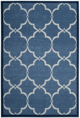 Cottage Power Loomed Medium Rectangle Rug
