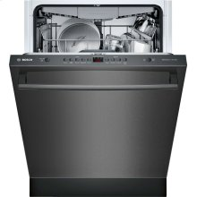 100 Series Dishwasher 24'' Black stainless steel