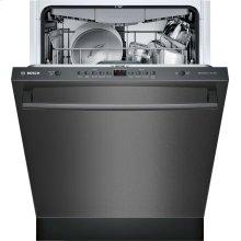 "100 Series 24"" Bar Handle Dishwasher SHXM4AY54N Black Stainless Steel"