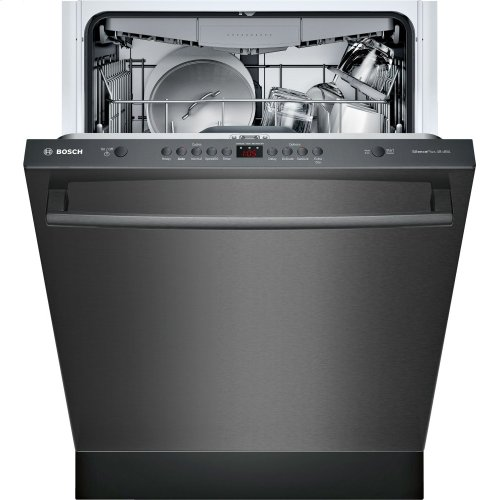 "100 Series 24"" Bar Handle Dishwasher SHXM4AY54N Black Stainless Steel"