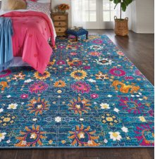 Passion Psn01 Denim Rectangle Rug 1'10'' X 2'10''