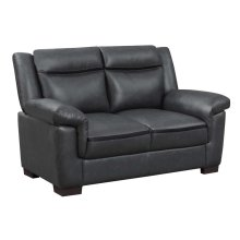 Arabella Contemporary Grey Loveseat