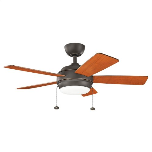 "Starkk Collection 42"" Starkk LED Ceiling Fan OZ"