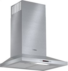 "300 Series, ESTAR Pyramid Chimney Hood 24"" S/S"
