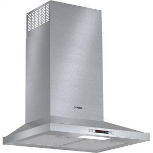 "BOSCH300 Series, ESTAR Pyramid Chimney Hood 24"" S/S"