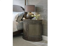 Demilune Bachelor Chest Elm Finish Product Image