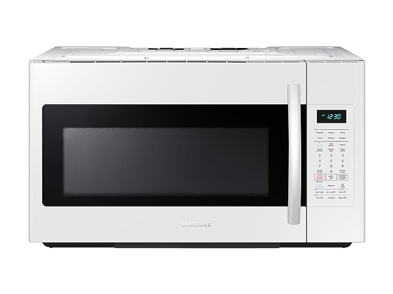Samsung1.8 Cu. Ft. Over-The-Range Microwave With Sensor Cooking In White