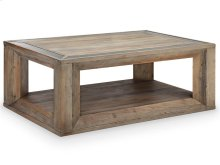 Rectangular Cocktail Table w/Casters