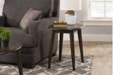 San Marino End Table - Brushed Brown