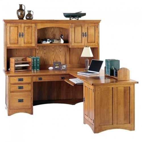Gallatin Classic Desk Hutch Top
