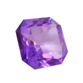 "Purple Glass Diamond 2x3"""