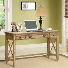 Coventry - Writing Desk - Weathered Driftwood Finish