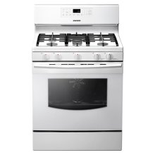5.8 cu. ft. Freestanding Gas Range (White)