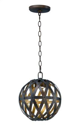 Weave LED 1-Light Pendant