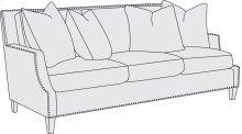 Crawford Sofa (80 in.) in Mocha (751)