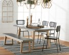 Haitus Table & Bench with Method Chairs Product Image