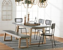 Haitus Table & Bench with Method Chairs