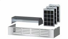 DRUU 36 Air recirculation kit Kit for conversion of a Range Hood to recirculation operation.