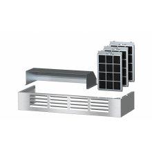 DRUU 36 Air recirculation kit Kit for converting a Range Hood to recirculation mode.